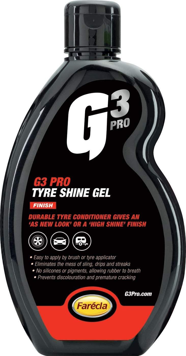 G3 Pro 7213 Tyre Shine Gel, 500ml £4.39 (Prime) + £4.49 (non Prime) at Amazon