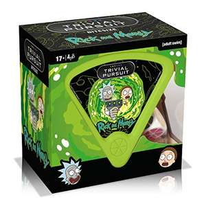 Rick and Morty Trivial Pursuit Game £5.55 (Prime) + £4.49 (non Prime) at Amazon