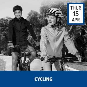 Cycling Event (from 15th April) e.g Cycling Shorts £7.99 / Baselayer £3.99 / Cycling Jacket £12.99 @ Aldi