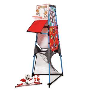 Chad Valley 5 in 1 Multi Games Tower now £32 (Click & Collect) @ Argos