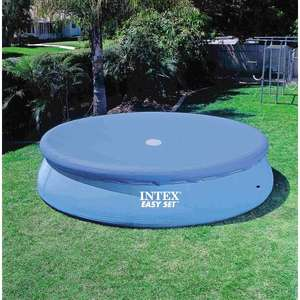 Intex 8ft Easy Set Pool Cover £4.99 + Free Delivery for Members ( Non Member postage £4.99 Free over £15) From Smyths Toys