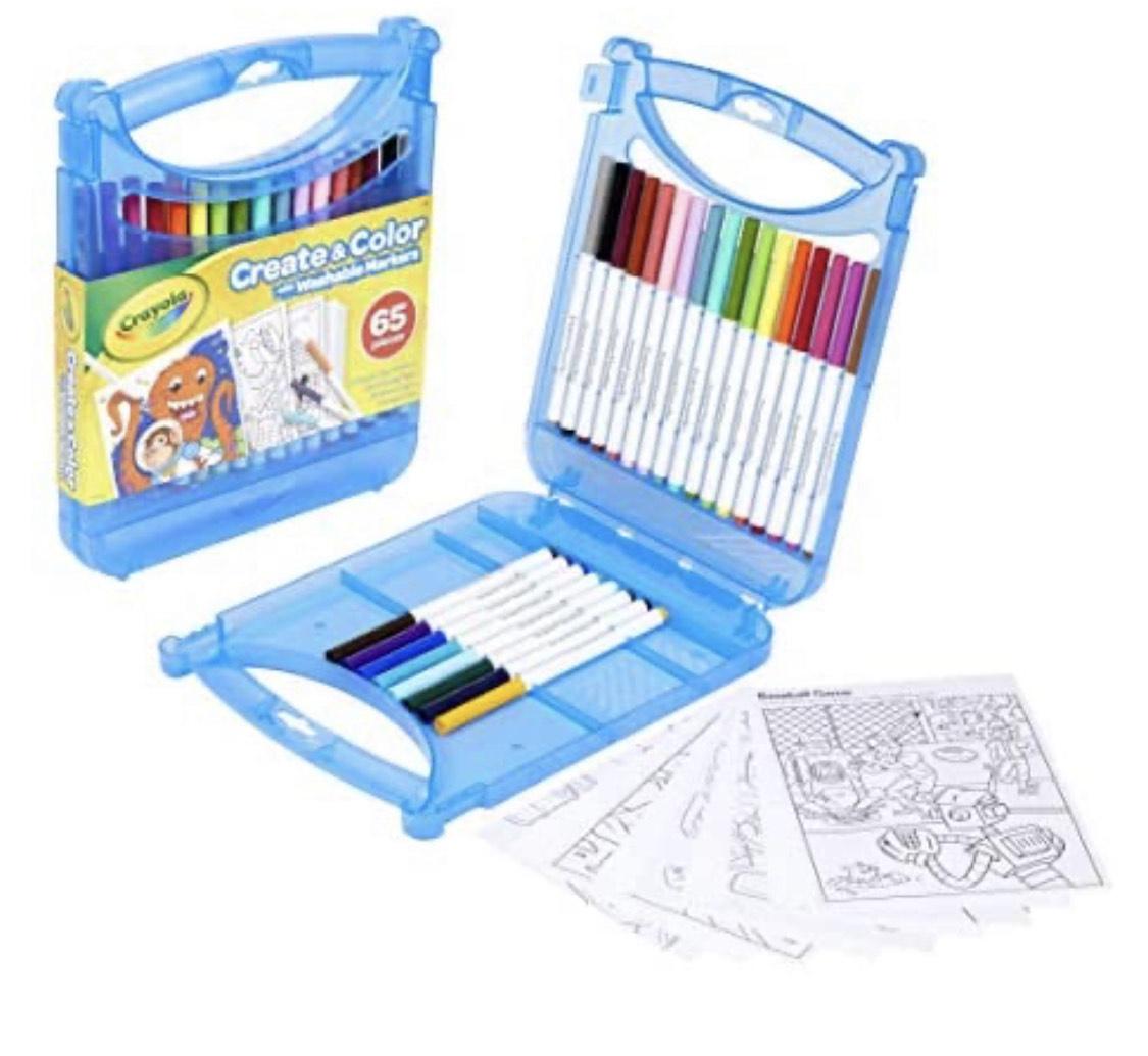Crayola Washable Markers Create & Colour Case, 04-0377-E-000 - £6.20 Prime / +£4.49 non Prime @ Amazon