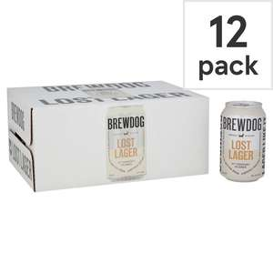 Brewdog Lost Lager Dry-Hopped Pilsner 12x330ml - £8.97 @ Asda