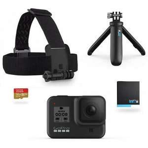 GoPro HERO8 4K Waterproof Action Camera Bundle Tripod Battery microSD, £289 at yoltso/ebay