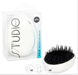 Superdrug Detangling Brush Metallic Silver OR Two Colour - £2.99 Free click and collect (Limited stock availability) at Superdrug
