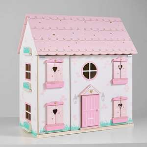 Wooden Dolls House - £32 + free click and collect @ Asda