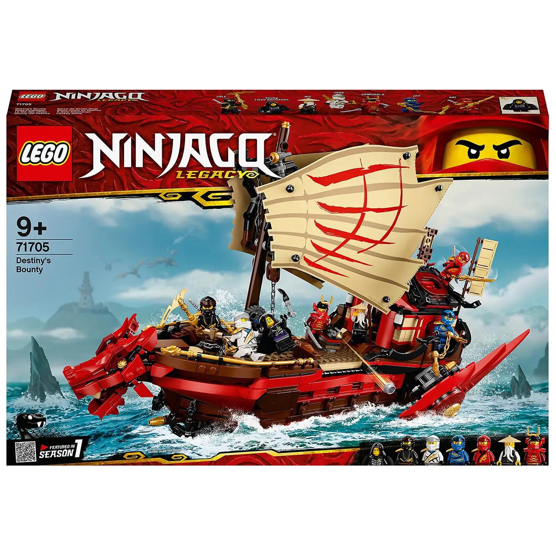 Lego Ninjago 71705 Legacy Destiny's Bounty Ship £71.99 with code + £1.99 delivery (free for RedCarpet members) @ Zavvi + 3% Quidco cashback