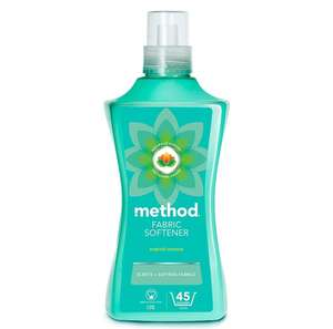 Method fabric softener 45 washes coconut/ocean violet now £3 prime / £7.49 nonPrime at Amazon