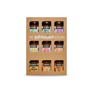 Beanies Coffee Gift Box - 9 jars for £17.50 (Free Delivery) @ Beanies the Flavour Co.