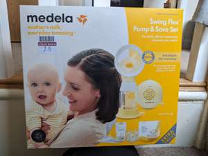 Medela swing flex pump and save Set £18 at Boots (Ayshire)