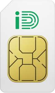 iD Mobile Sim Only - Unlimited Data, Minutes and Texts £16pm (£30 AUTO Cashback - Effective £13.50pm - 12 month) @ Mobiles.co.uk