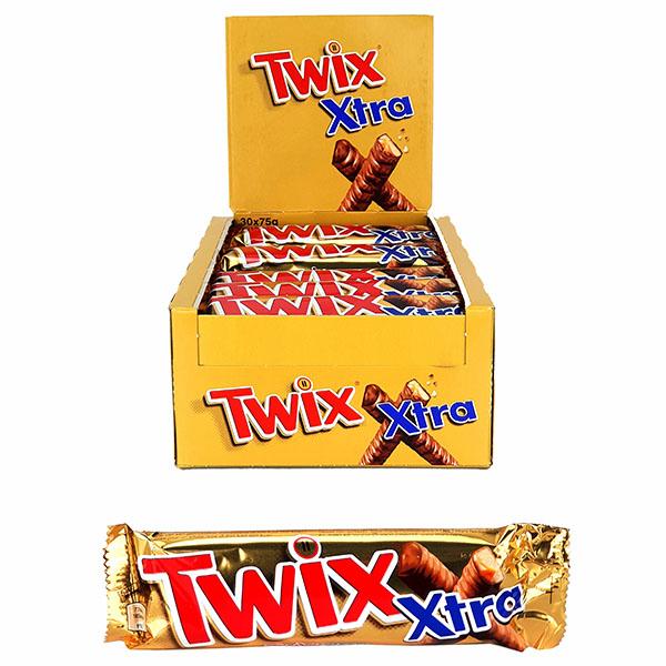 30 x Twix Extra Large 75g Chocolate Bars £12.00 Delivered @ Yankee Bundles