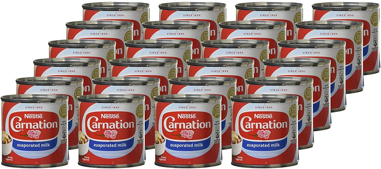 Nestlé Carnation Evaporated Milk, 170 g (Pack of 24) - £8.88 Prime / +£4.49 non Prime @ Amazon