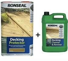 Ronseal 5lt Decking cleaner plus 5lt Decking protector £23.98 Inc VAT Costco in-store (Reading)