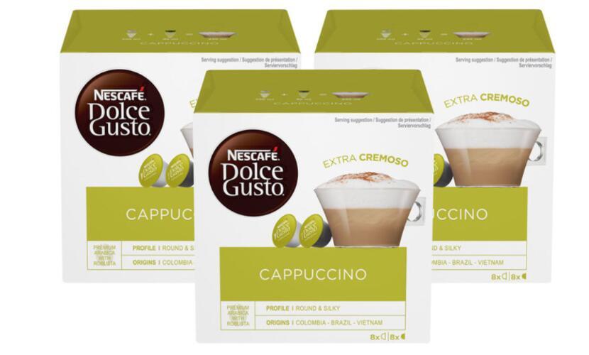 Nescafé Dolce Gusto Cappuccino Coffee Pods, 24 Servings - £8.49 at Costco Reading