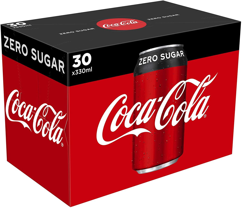 Coca-Cola Zero Sugar 30 x 330ml Cans £8.50 @ Amazon Fresh (+£2.99 Delivery or free on £40 spend - Prime members)