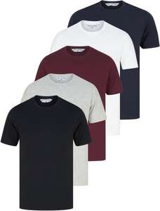 Men's 5 Pack of T-shirts £15 with code + £1.99 Delivery (Free on £30 Spend From Tokyo Laundry