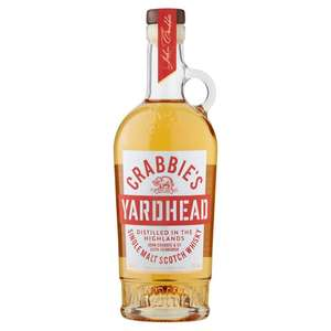 Crabbies 70cl Whiskey for £16 with clubcard/ £10 with magazine coupon @ Tesco