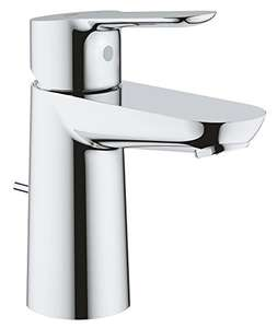 GROHE 23356000 BauEdge Basin Mixer Tap with pop up waste - £39.77 @ Amazon