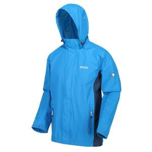 Regatta Matt windproof waterproof hooded coat in imperial blue for £20.39 delivered using code @ eBay / warwickshireclothing