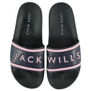 Jack Wills Womens Harvey Sliders Pool Shoes Slip On Strap £15 @ Jack Wills / eBay