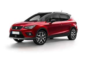 SEAT Arona SUV 1.0 TSI Manual PCP - £199.85 x 47 months + £3850 upfront (Optional Final payment £9389.66) at Cort Vehicle Contracts