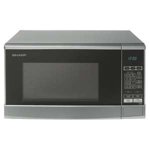 Sharp R270SLM 800w 20L Microwave £50.99 delivered with code @ Hughes-electrical / ebay