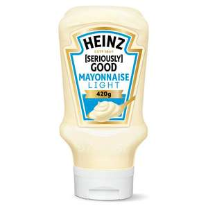 Heinz- Seriously good Light Mayonnaise 490g 29p at FarmFoods Hull