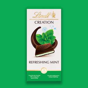 Lindt Creation Dark Chocolate Filled With Mint Mousse 2.1 Kg £16 at Yankee Bundles