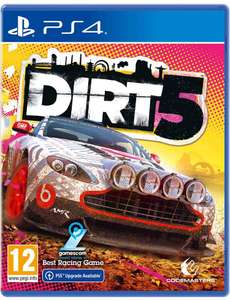 [PS4] DiRT 5 (Free PS5 Upgrade) - £21 delivered @ Monster Shop