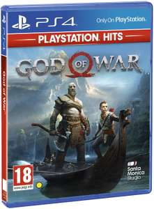 God of War PlayStation Hits (PS4) - £9.99 delivered @ Base (+Other PS Hits on Sale)