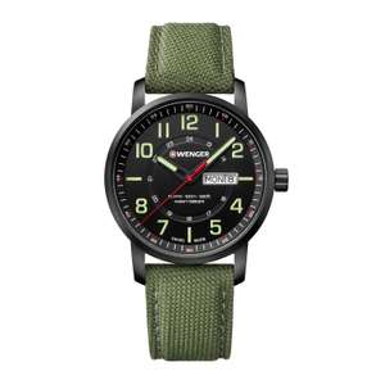 Wenger Attitude Men's Green Fabric Strap Swiss Watch £77 @ H Samuel