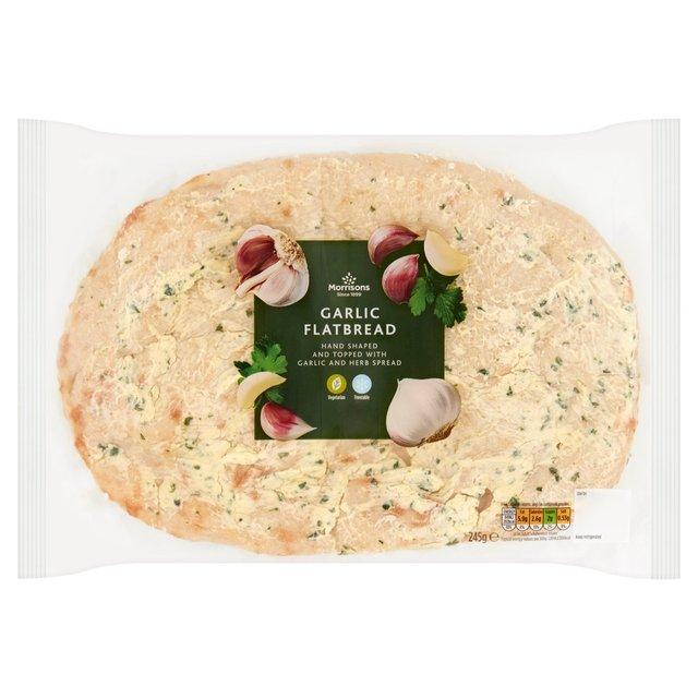 Garlic & Herb Flatbread 245g £1 @ Morrisons