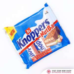 3 x Storck Knoppers NutBar 120g 89p In Store @ Aldi (Robroyston, Glasgow)