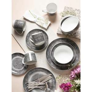 Portmeirion Studio Speckle Grey 16 Piece Dinner Set £40 (Free collection)@ George/Asda