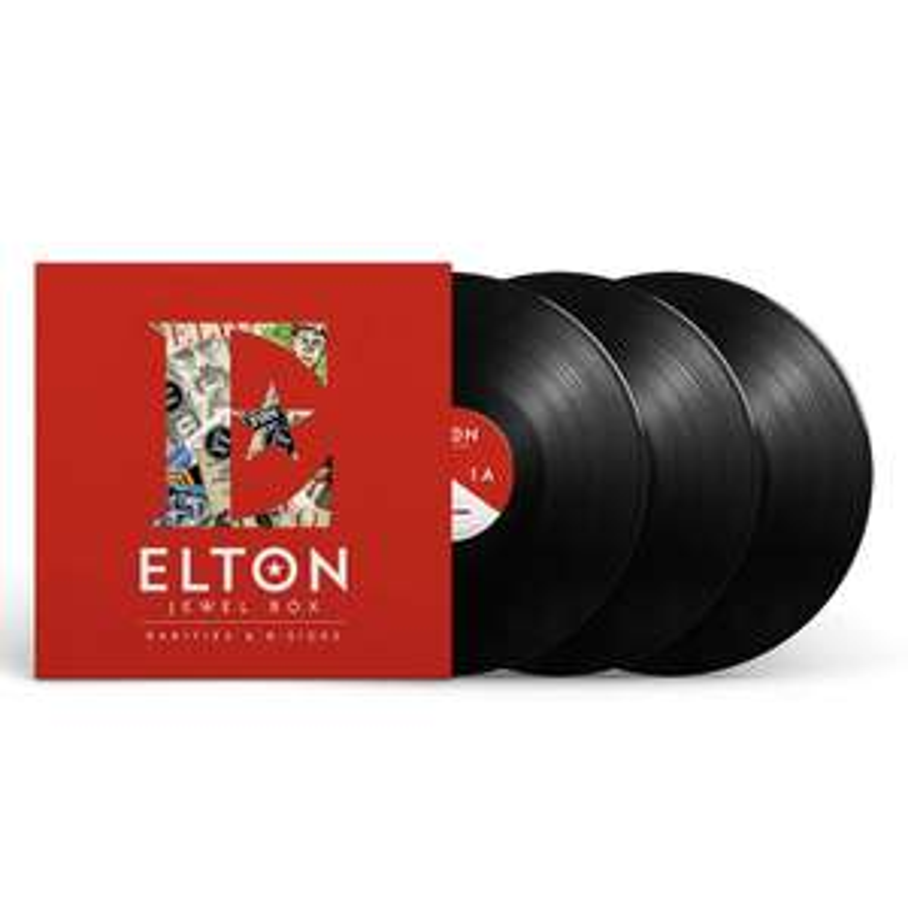 Elton John Triple Vinyl - Jewel Box - Rarities & B-Sides - £14.91 @ Amazon