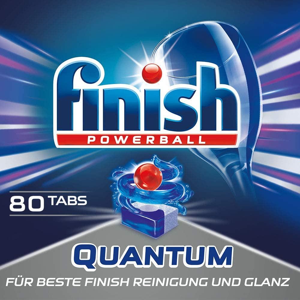 Finish Quantum Dishwasher Tablets x 80 £6.05 Prime at Amazon (+£4.49 non Prime)