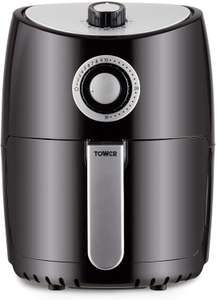 Tower T17023 Air Fryer Oven with Rapid Air Circulation and 30 Min Timer, 2.2 Litre, Black £33.99 at Amazon