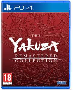 Yakuza Remastered Collection (PS4) £22.95 Delivered @ GameByte