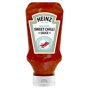 Heinz Sweet Chilli Sauce, 220 ml for £1 or 85p S&S (+£4.49 NP) Delivered @ Amazon
