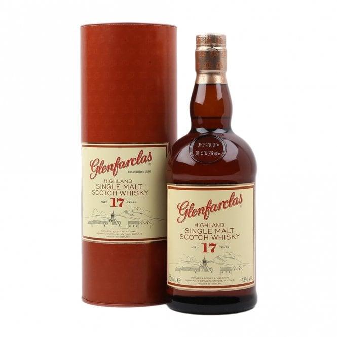 Glenfarclas 17 year old single malt scotch (70cl, 43% ABV) £66.85 delivered at The Whisky World