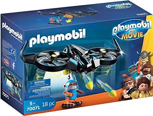 Playmobil: THE MOVIE 70071 Robotitron with Drone @ Amazon