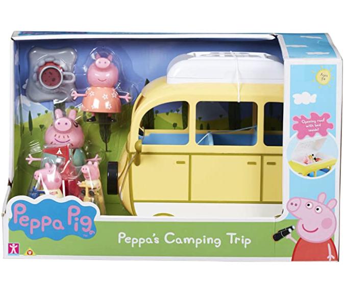 Peppa pig camping trip playset £13.80 prime / £18.29 non prime @ Amazon