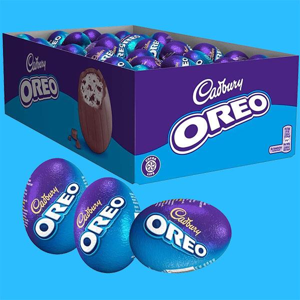 48 x Cadbury Oreo Eggs £12 / 3 x Lindt Milk or Assorted Chocolate Mini Eggs 180g Packs £5 delivered (BB July - August 2021) @ Yankee Bundles