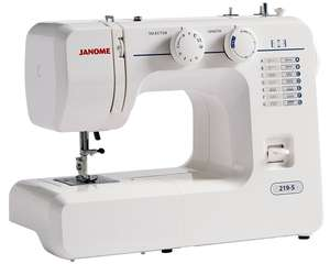 Janome sewing machine free with 12 month £89.87 magazine subscription e.g Mollie makes @ Buysubscriptions