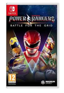 Power Rangers: Battle for the Grid Nintendo Switch Game £16.99 @ Argos free click and collect