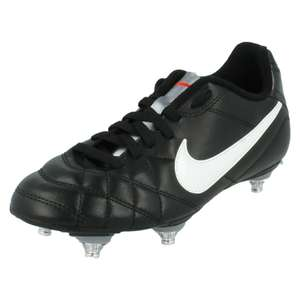 Junior Boys Nike Tiempo Rio Sg Soft Ground Lace Up Football Soccer Boots Size 3 £13.49 delivered @ bluntsshoesleicester / ebay