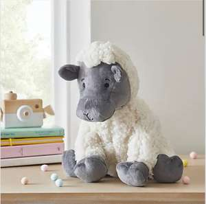 Sheep Plush Toy £4 Free Click and collect @ Dunelm