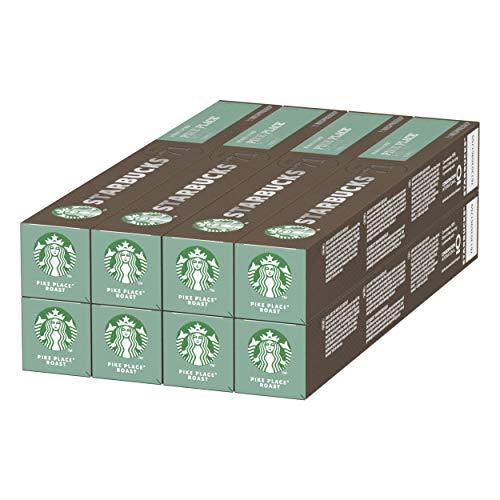 Starbucks Pike Place Nespresso pods (80 capsules) - £17.64 / £13.23 S&S (+£4.49 non-Prime) @ Amazon
