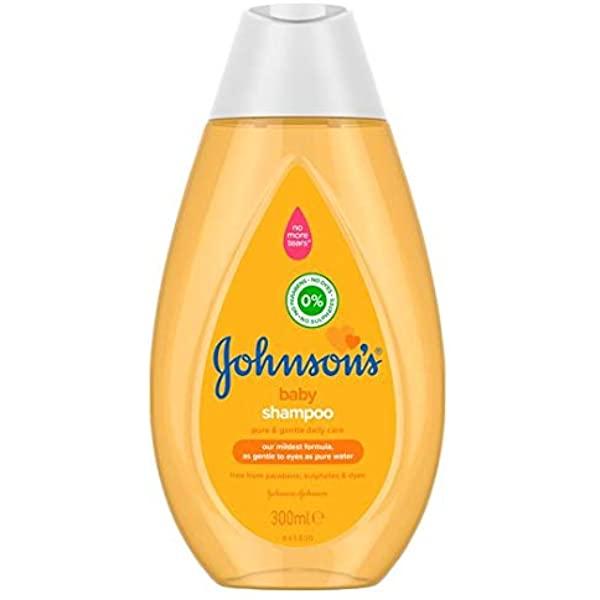 JOHNSON'S, Baby Shampoo, Fresh, 300 ml - £1.50 Prime / +£4.49 non Prime @ Amazon